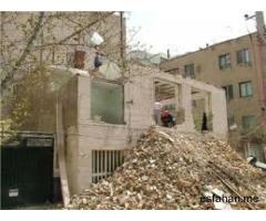 پیمانکاری در:تخریب.جوشکاری.تعمیرات