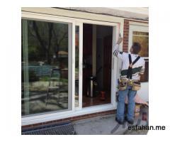تعویض درب و پنجره قدیمی با درب و پنجره دوجداره